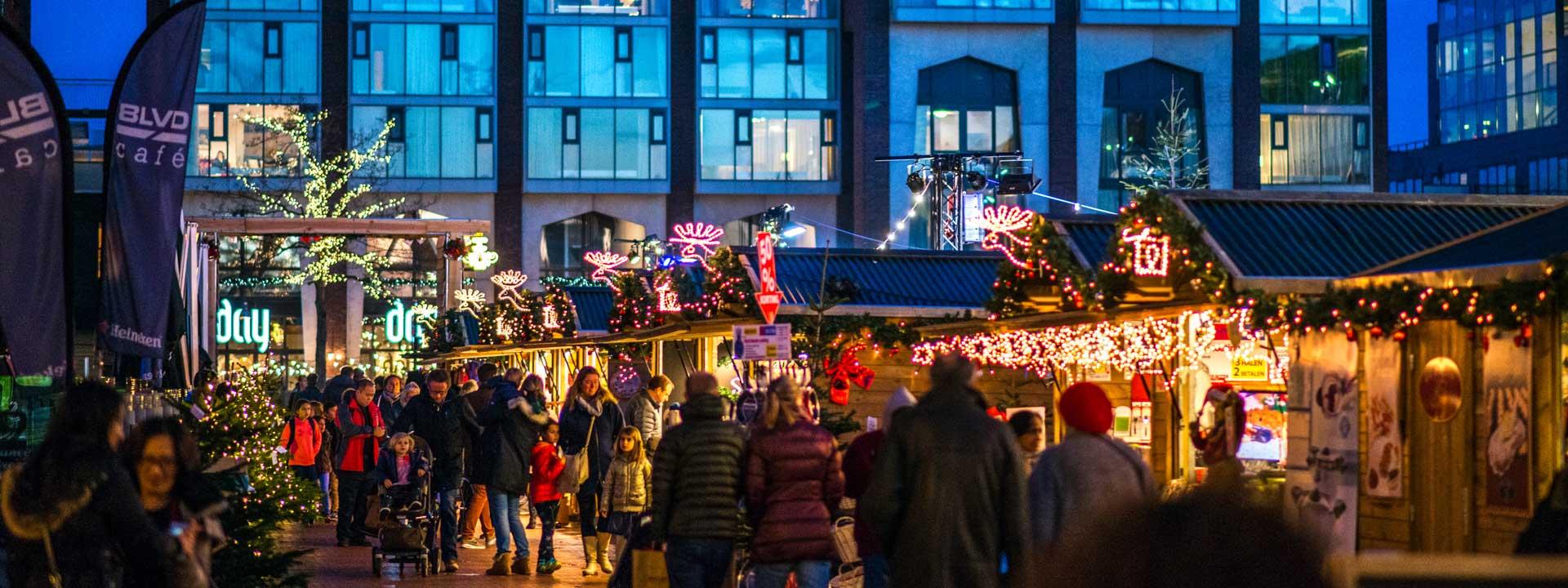 Kerstmarkt Winter Village Stadshart Amstelveen Van 7 T M 30 December