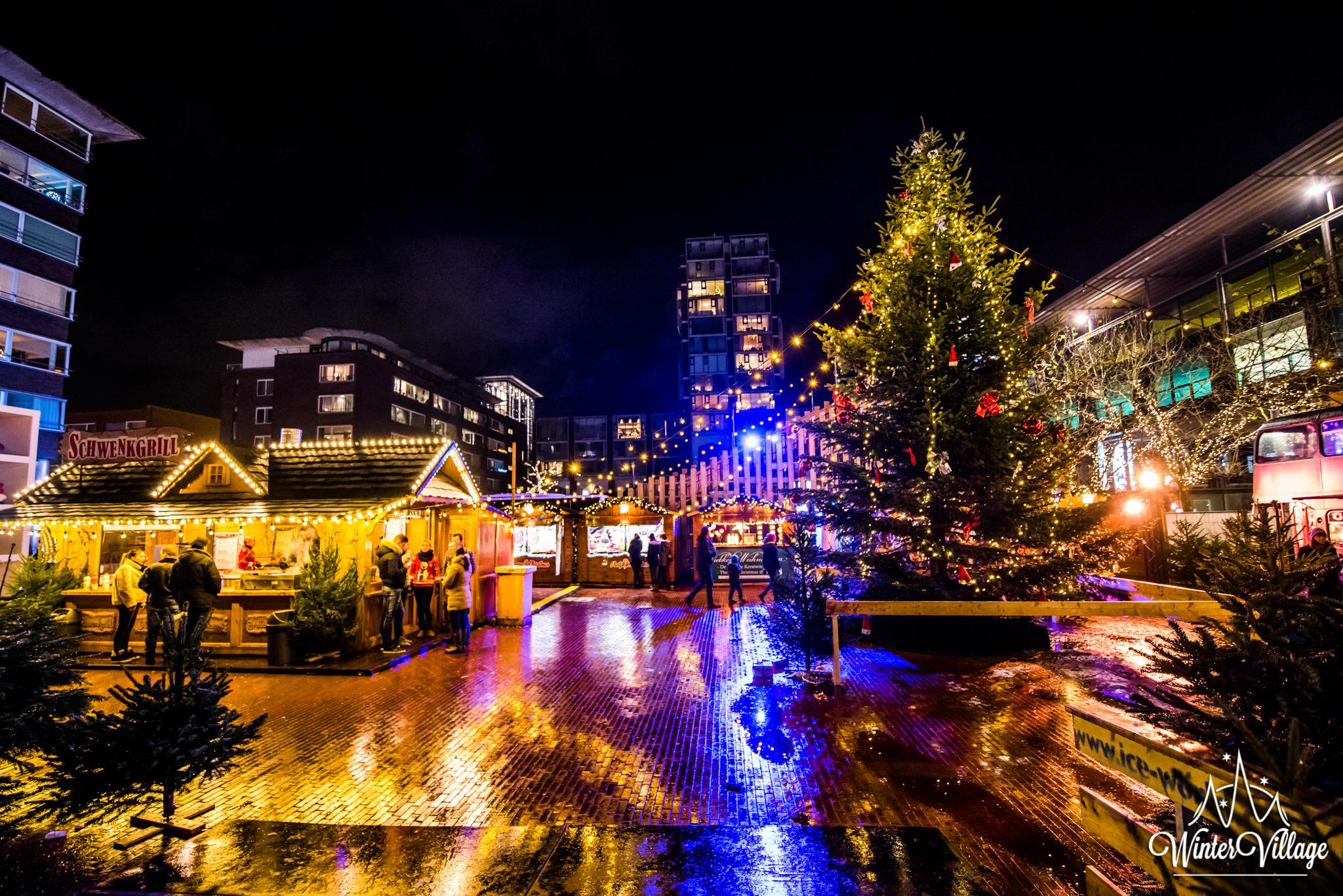 De Activiteiten Van Winter Village Stadshart Amstelveen